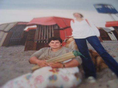 Bärbel og jeg i den tiden jeg var en vanskelig ungdom